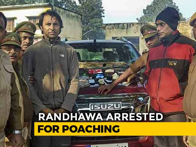 Video : Golfer Jyoti Randhawa Arrested For Alleged Poaching At UP Tiger Reserve
