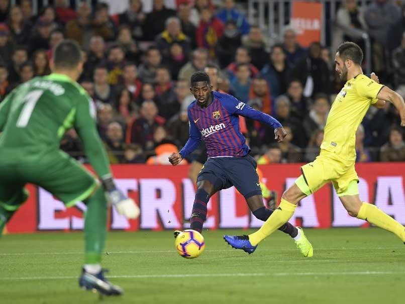 Ousmane Dembele Shines As Barcelona Go Top Of La Liga With Win Over Villarreal