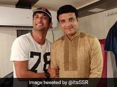 सुशांत सिंह राजपूत ने शेयर की सौरव गांगुली के साथ फोटो, बोले- 'क्या शानदार व्यक्ति हैं'