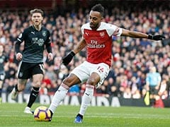 Pierre-Emerick Aubameyang Double Sees Off Burnley As Mesut Ozil Returns For Arsenal