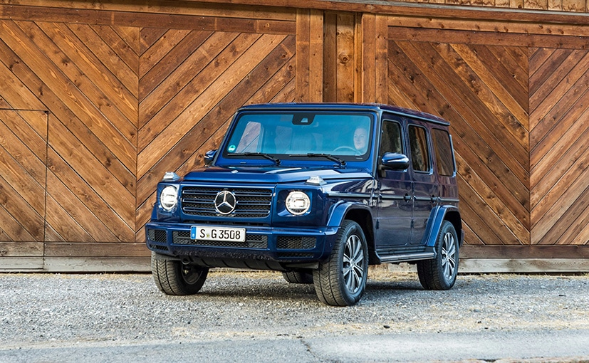 The G350d will be the new entry-level variant in the G-Class range.