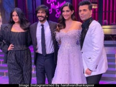 <I>Koffee With Karan 6</i>: Sonam, Rhea, Harshvardhan Kapoor Are Karan Johar's New Guests
