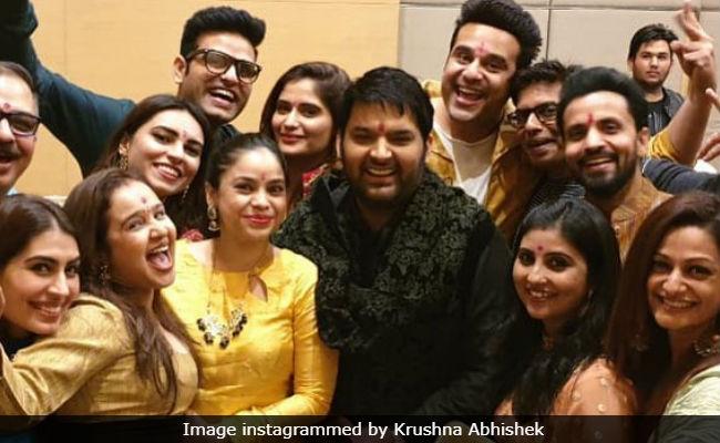 Inside Kapil Sharma's Pre-Wedding Festivities With Krushna