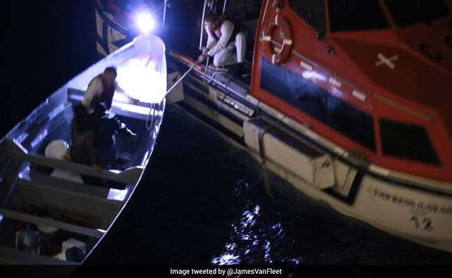 Fishermen Stranded At Sea For 20 Days Rescued By Cruise Ship