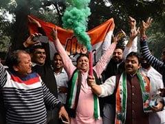 विधानसभा चुनाव 2018 परिणाम:  MP में बहुमत का आंकड़ा नहीं छू पाई कांग्रेस, छत्तीसगढ़-राजस्थान में कांग्रेस का राजतिलक