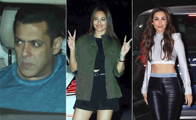 In Pics: Salman Khan, Sonakshi Sinha And Malaika Arora Attend Nirvaan Khan's Birthday Bash