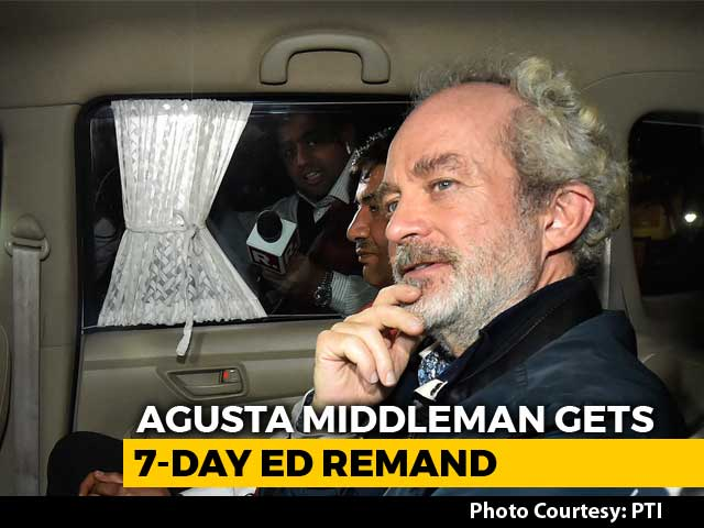 "Video : Christian Michel Named ""Mrs Gandhi, Son Of Italian Lady"": Probe Agency"