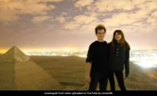 Couple Allegedly Poses Naked For Photo, Video Atop Giza Pyramid, Probe On