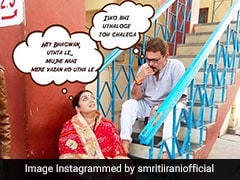 Smriti Irani's Instagram Humour Is On Point. Here's Proof