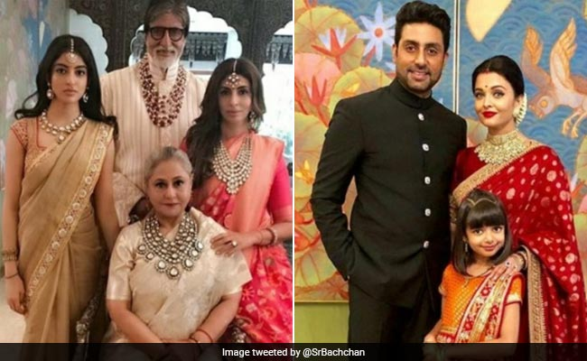 For Amitabh Bachchan, It's All About Family. See His Post On The Bachchans