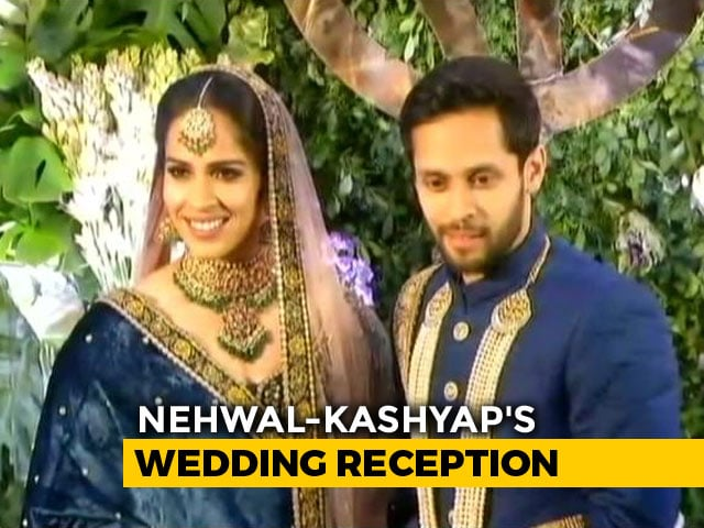 """Video : """"Best Match Of My Life"""": Saina Nehwal Gets Married To Parupalli Kashyap"""