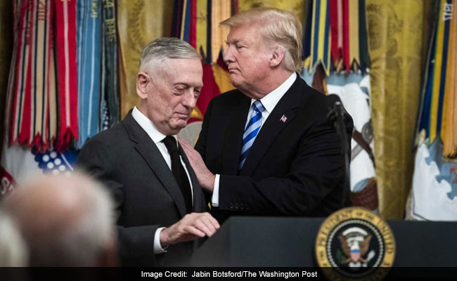US Defence Chief James Mattis Quits Over Trump's Syria, Afghanistan Move