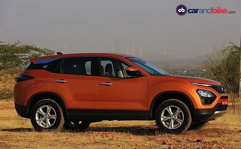 The Tata Harrier will be the company's last launch of the 2018-19 financial year