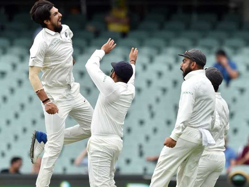 India out for 250 on 1st delivery Friday at Adelaide Oval