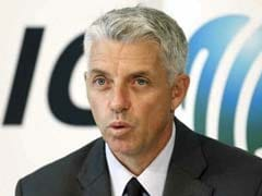 ICC Chief David Richardson Seeks Governments' Help To Tackle Match-Fixing