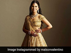 First-Ever Valentino <i>Lehenga</i>, Custom-Made For Isha Ambani