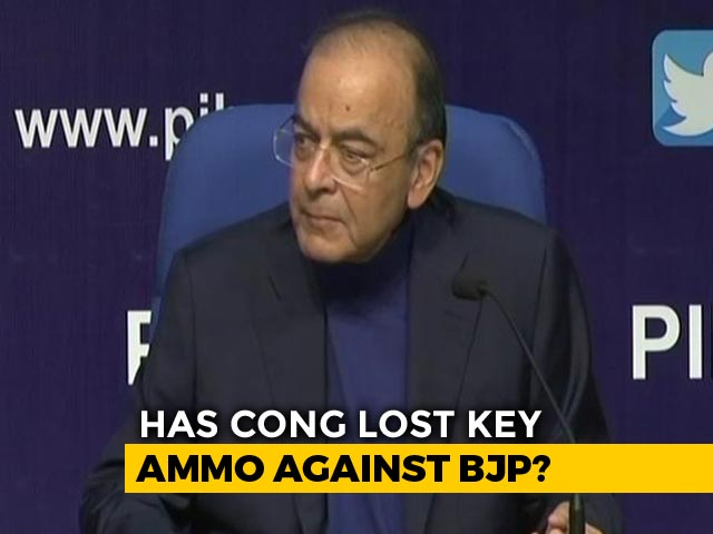 "Video : ""Deaf Will Never Hear"": Arun Jaitley Rejects Congress Demand On Rafale"