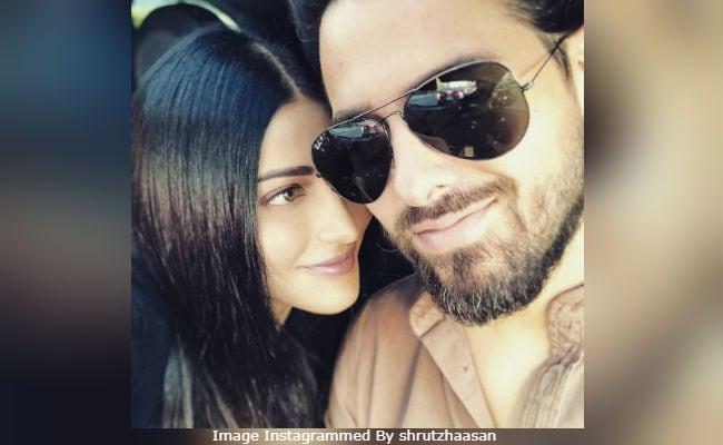 'You Make Me Laugh:' Shruti Haasan's Caption For Pic With Boyfriend Michael Corsale