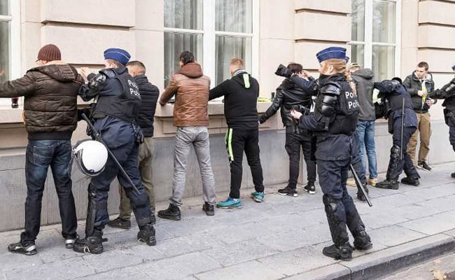 70 Arrested In Brussels Amid 'Copycat' Yellow Vest Protests Across Europe