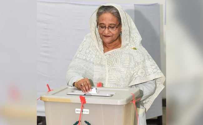 Early Results Show Landslide Win For Sheikh Hasina In Bangladesh Polls