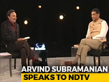 "Video : ""RBI's Independence Vital, Should Not Be Politicised"": Arvind Subramanian"