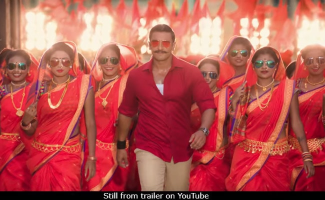 Image result for Simmba Trailer