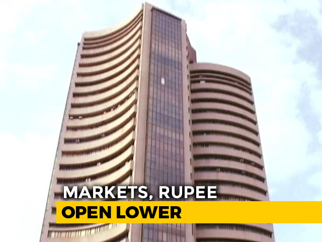 Video: Sensex Down Over 50 Points, Nifty At 10,781