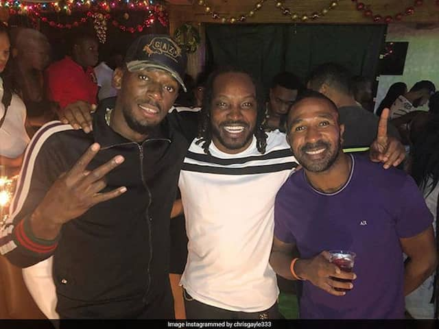 """Stars Among Stars"": Chris Gayle Meets Sprint Legend Usain Bolt"