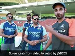IND vs AUS: जब भारत आर्मी ने तेज गेंदबाज भुवनेश्वर कुमार को गाना सुनाकर किया हैरान, देखें Video
