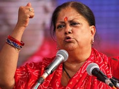 "General Election 2019: ""What Did You Do For 55 Years?"" Vasundhara Raje Slams Congress"