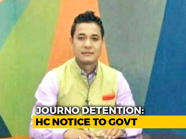 Video : High Court Tells Centre, State To Respond To Manipur Journalist's Petition
