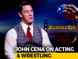 Video: Wrestling Prepared Me For Films: John Cena
