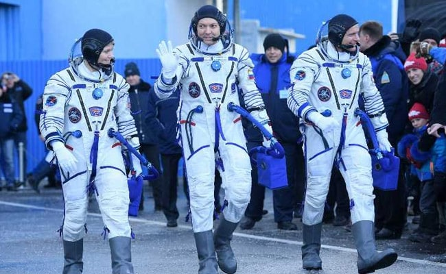 Astronauts Say Looking Forward To Space Launch After Soyuz Accident