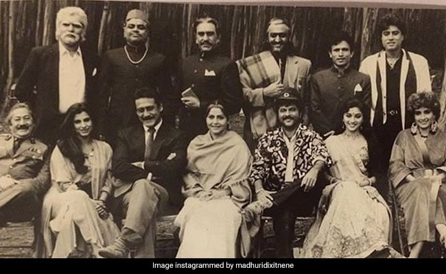 Madhuri Dixit Brings Back Nineties Nostalgia With Ram Lakhan Throwback Pic