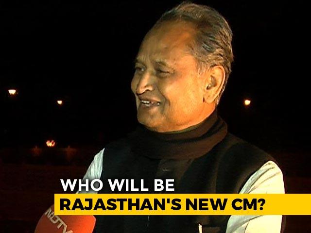 Video : BJP Did Not Respect Rajasthan Majority It Got In 2013, Says Ashok Gehlot