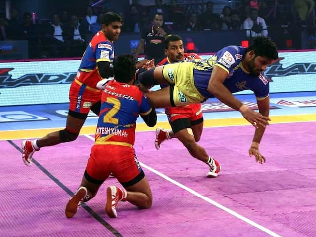Pro Kabaddi League: UP Yoddha vs Tamil Thalaivas Ends In Thrilling Draw