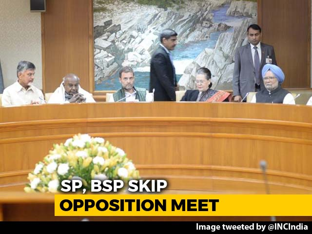Video : 21 Parties At Key Opposition Meet, 2 Surprise Entries, 2 Drop Out