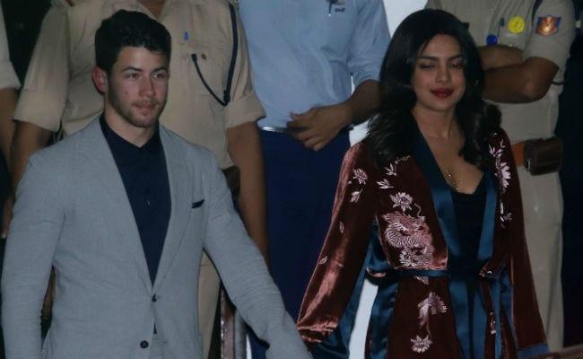 Done With Delhi, Priyanka Chopra And Nick Jonas Fly Back To Mumbai