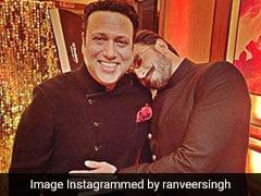 On Govinda's 55th Birthday, Ranveer Singh And Raveena Tandon Post Wonderful Pics With '<I>Hero No 1</I>'