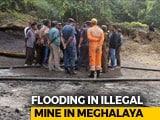Video : 13 Labourers Feared Dead After Flooding In Illegal Coal Mine In Meghalaya
