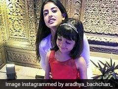 Video: Aradhya Can't Take Her Eyes Off Of Navya Nanda's Gorgeous 21st Birthday Cake!
