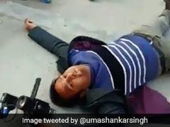 नवाज शरीफ के सुरक्षा गार्ड ने की टीवी चैनल के कैमरामैन की पिटाई, देखें VIDEO