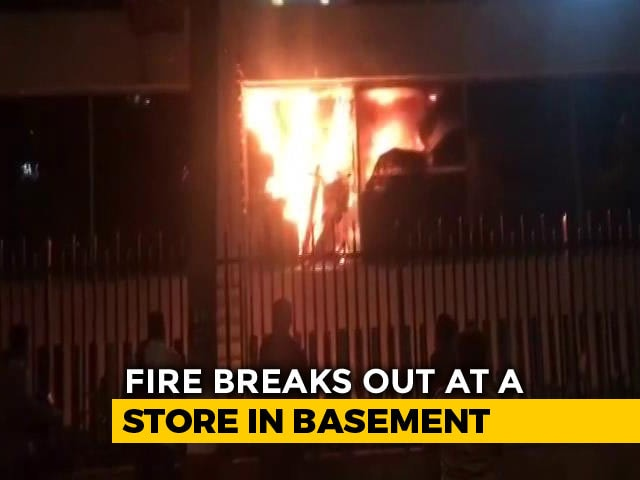 Video : Fire In Showroom Next To Mumbai's 5-Star Trident Hotel Under Control