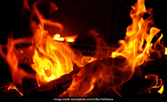 After Fight, Haryana Man Throws Children Into Fire Then Jumps In Himself