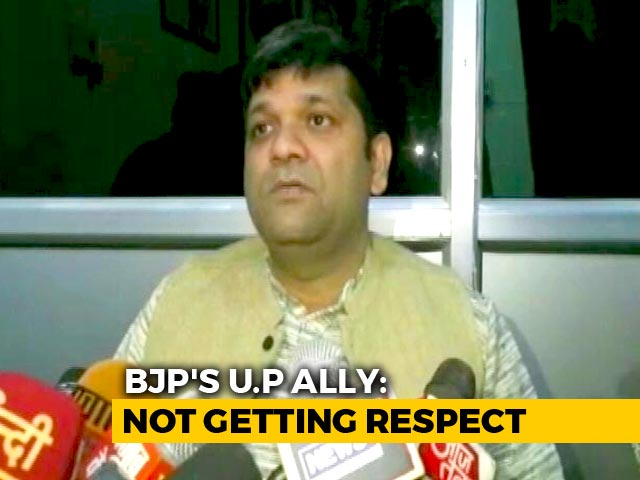 "Video : ""Should Learn From Recent Losses,"" Says BJP Ally In Uttar Pradesh"