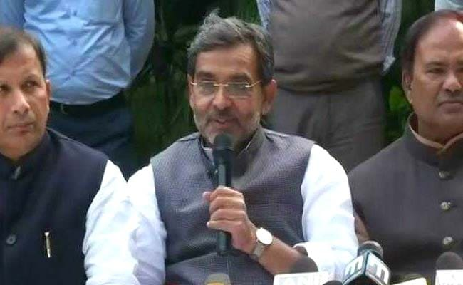 'Jumlebaazi Exposed': Upendra Kushwaha On BJP's Defeat In Assembly Polls