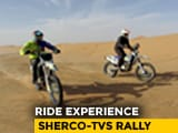 Video : Sherco-TVS Rally Ride Experience