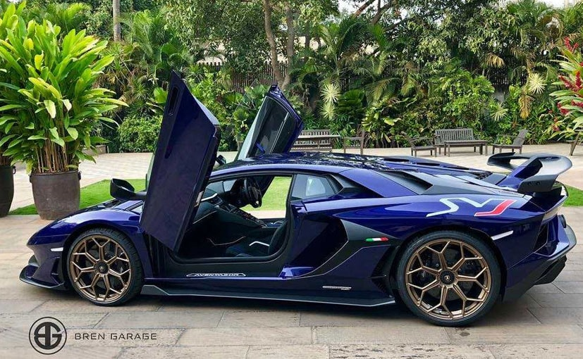 The Lamborghini Aventador SVJ has been purchased by a private buyer in Bangalore