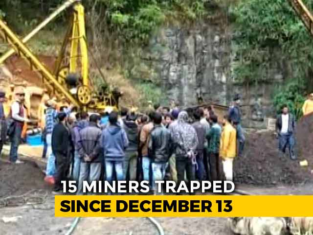 "Video : ""We Sought Heavy-Duty Pumps, But..."": Meghalaya Minister On Rescue Effort"