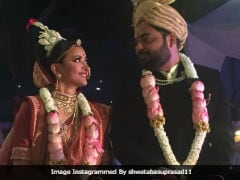 Trending Pics From Actress Shweta Basu Prasad's Wedding